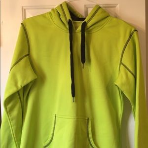 Bcg neon yellow sweatshirt